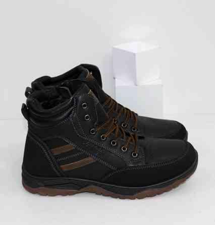 Зимние мужские ботинки Код: 111898 (9406-2) Запоріжжя