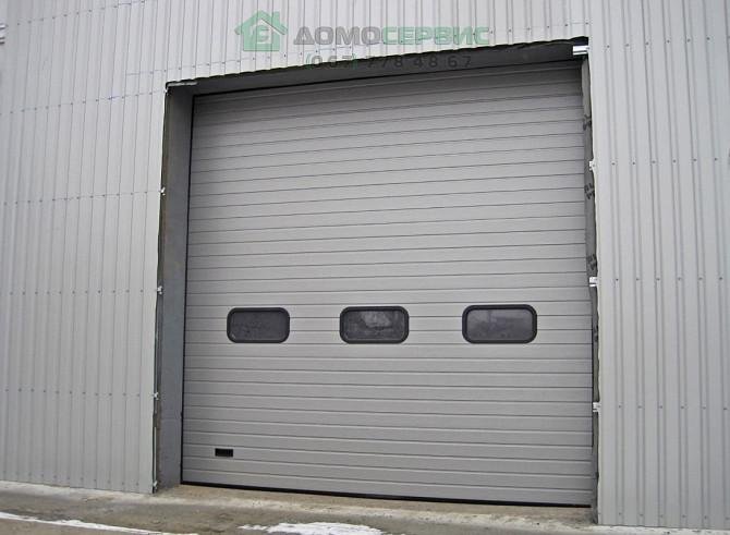 Гаражные секционные ворота. Подъемные ворота в гараж. Замер, монтаж Одеса - зображення 8
