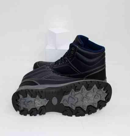 Осенние мужские ботинки синие Код: 111797 (20-853-blue) Запоріжжя