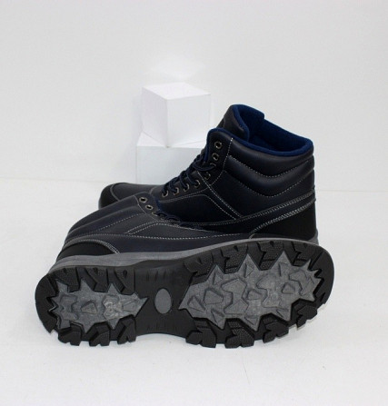 Осенние мужские ботинки синие Код: 111797 (20-853-blue) Запоріжжя - зображення 2