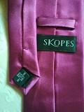 Стильный, однотонный, брендовый шелковый галстук 100% шелк slopes Дніпро