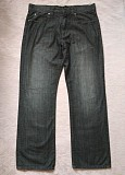 Классические прямые мужские темно серые джинсы /брюки jasper conran w34 l30 Дніпро