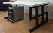 Столешница для компьютерных столов из акрилового камня под заказ. Компьютерный стол на заказ Харків
