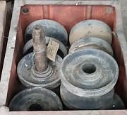 Катки с бронзовыми втулками 652б.21.10.00 на экскаватор - драглайн Эо-652. Дніпро