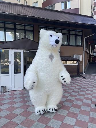 Начните продвижение с надувным костюмом белого медведя Київ - зображення 5