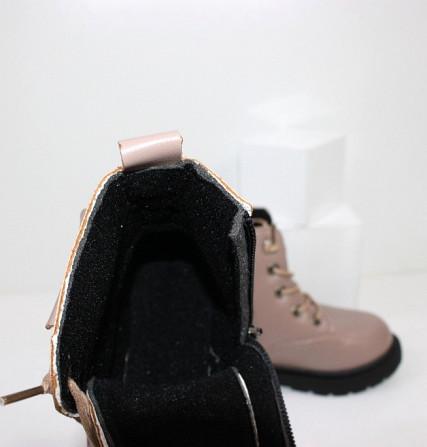 Ботинки для девочек с карманчиком Код: 111830 (21XD-1) Запоріжжя - зображення 4