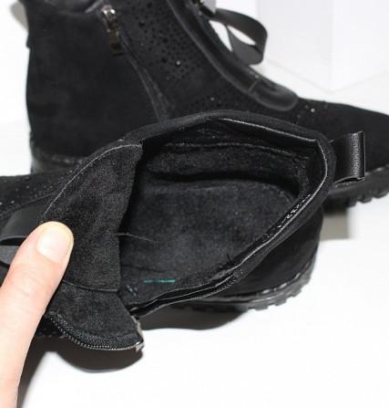 Женские ботинки в стразах Код: 107897 (BK232-1) Запоріжжя - зображення 7