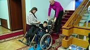 Мобильный гусеничный сходолаз для инвалидных колясок Львів
