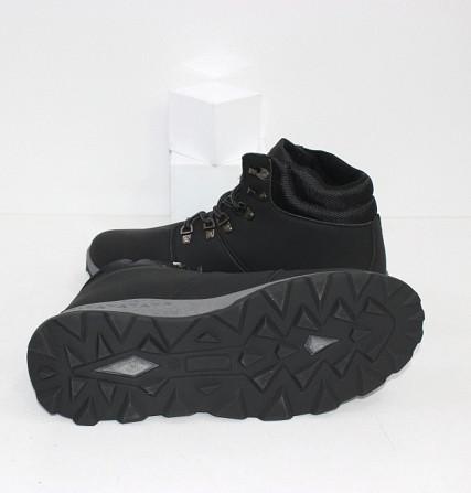 Осенние мужские ботинки на шнурках Код: 111798 (20-855-black) Запоріжжя - зображення 6