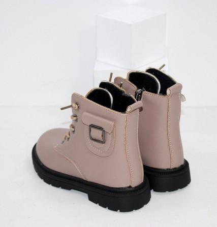 Ботинки для девочек с карманчиком Код: 111830 (21XD-1) Запоріжжя - зображення 2