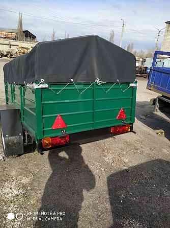 Новый прицеп 200х130х40 и другие модели прицепов Днепр Якимівка