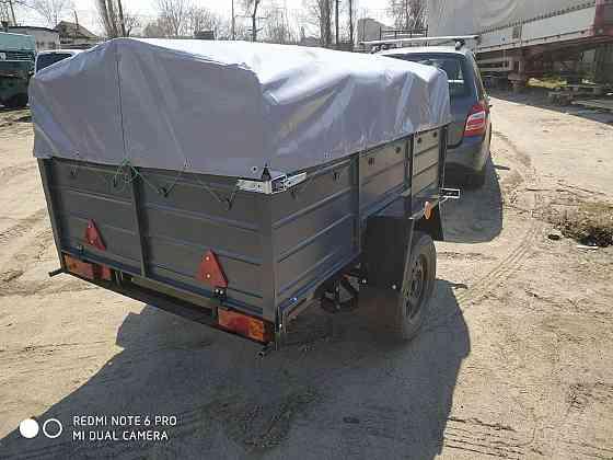 Новый автомобильный прицеп Днепр 200х130х40 и другие модели от завода без посредников Кам'янка-Бузька