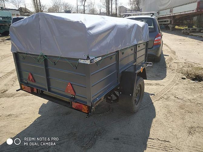 Новый автомобильный прицеп Днепр 200х130х40 и другие модели от завода без посредников Кам'янка-Бузька - зображення 1