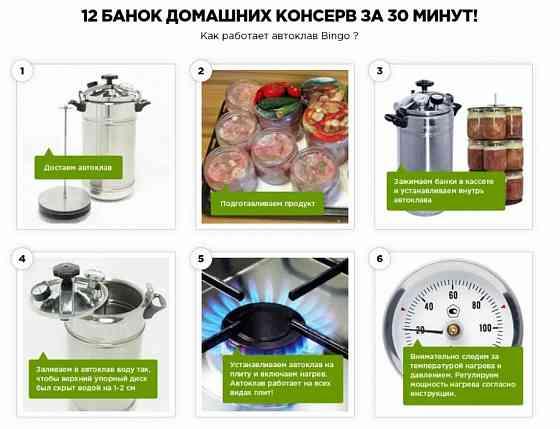 Кассетный автоклав прямо с завода, нержавейка на 8/12/16 банок. Львів