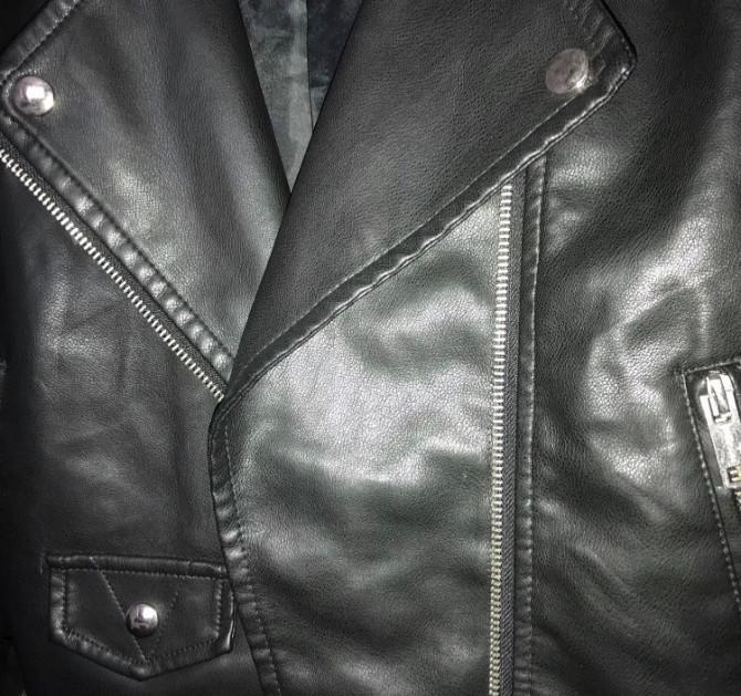 Кожанная женская куртка Запоріжжя - зображення 4