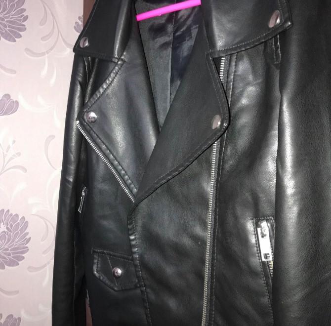 Кожанная женская куртка Запоріжжя - зображення 1