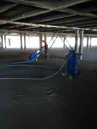 Шлифовка, полировка, ремонт бетонных, полимерных, наливных полов. Київ