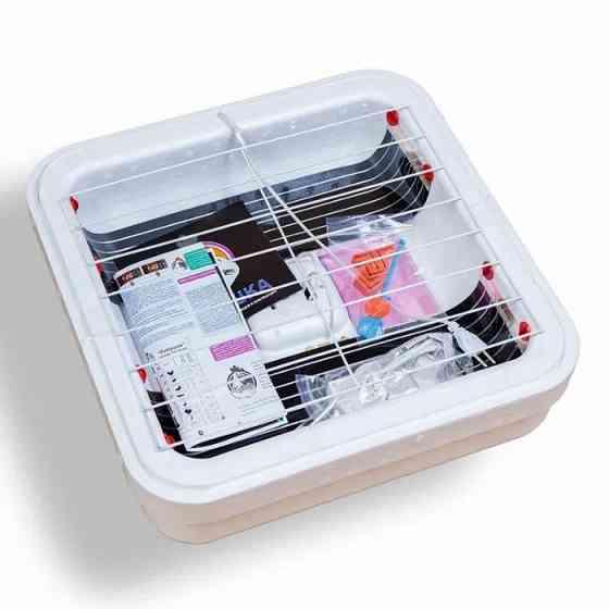 Инкубатор c цифровым дисплеем Рябушка на 70 яиц + заводская гарантия на 1 год! Житомир