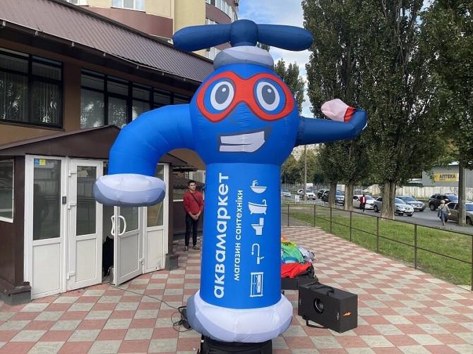 Надувные человечки – надежный рекламный инструмент Київ - зображення 4