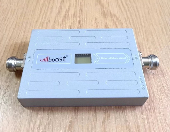 GSM усилитель мобильной связи CB-1568-G 900 МГц 68 дБ 15 дБм, 150-200 кв. м. Дніпро - зображення 1