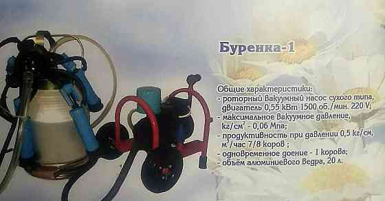 "Доильный аппарат ""Буренка-1 стандарт 3000"" (сухой) Куп'янськ"