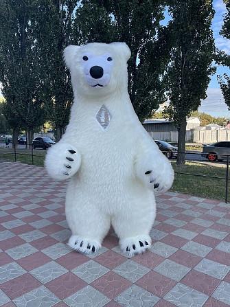 Начните продвижение с надувным костюмом белого медведя Київ - зображення 6