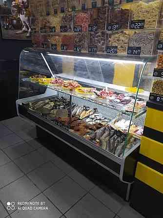 Витрина холодильная гастрономическая, кондитерская. Запоріжжя