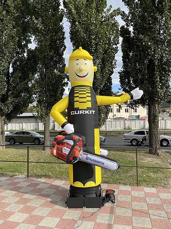 Надувные человечки – надежный рекламный инструмент Київ - зображення 5