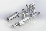 Комплектный завод по производству топливных пеллет на 1т/ч Хмельницький