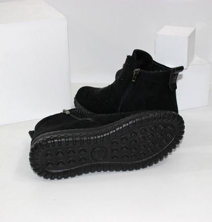 Женские ботинки в стразах Код: 107897 (BK232-1) Запоріжжя - зображення 6