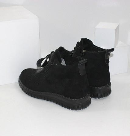 Женские ботинки в стразах Код: 107897 (BK232-1) Запоріжжя - зображення 5