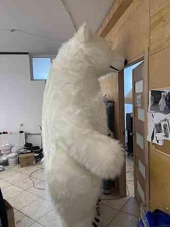 Начните продвижение с надувным костюмом белого медведя Київ
