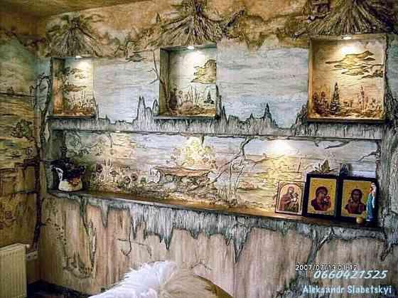 Живопис авторський декоративними венеціанськими штукатурками від Олександра Слабецького Луцьк. Луцьк