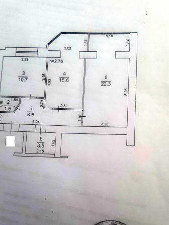 Просторная 2-х ком. квартира с индивидуальным отоплением. Одеса - зображення 3