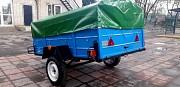 Новый одноосный прицеп Лев-22 по доступной цене от Завода Одеса