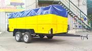 Двухосный легковой габаритный прицеп в Евро сборке Лев 380 Київ