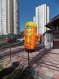 Рукомах зазывала кирпич желтый Київ
