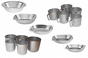 Алюмінієві тарілки, кухлі та стакани . Кам'янець-Подільський