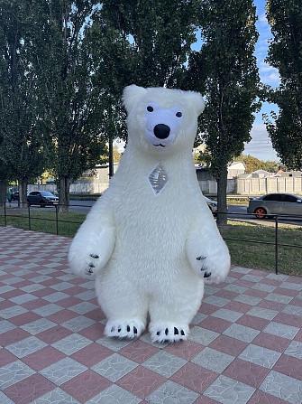 Начните продвижение с надувным костюмом белого медведя Київ - зображення 7