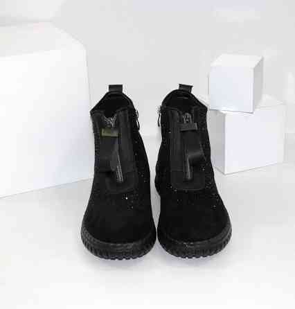Женские ботинки в стразах Код: 107897 (BK232-1) Запоріжжя