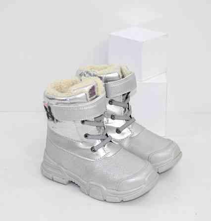 Детские , тёплые ботинки для девочек Код: 111992 (S3028-1) Запоріжжя