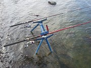 Подставка под 2 удилища донного и поплавочного, подарок рыбаку Київ