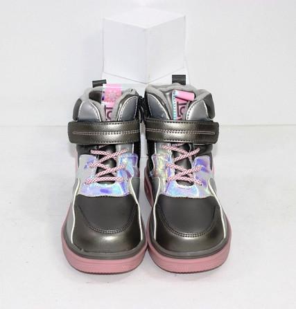 Осенние ботинки для девочек Код: 111825 (2021-36-2) Запоріжжя - зображення 6