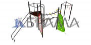 """Комплекс спортивно-игровой """"детский"""" с баскетбольным щитом Брама Бровари"""