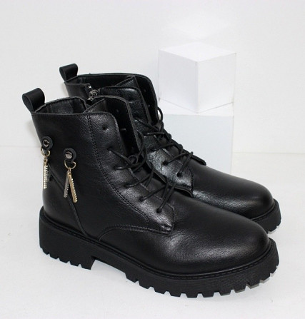 Зимние женские ботинки на молнии Код: 111782 (H53) Запоріжжя - зображення 1