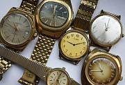 Покупаю часы времён Ссср в жёлтом корпусе в любом состоянии Хмельницький