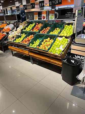 Овощные стеллажи KASSEBOHMER и Wanzl (Германия) Верхньодніпровськ