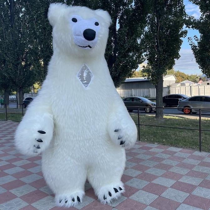 Начните продвижение с надувным костюмом белого медведя Київ - зображення 3