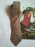 """Модный, стильный шелковый галстук принт пейсли """"индийский огурец"""" Дніпро"""