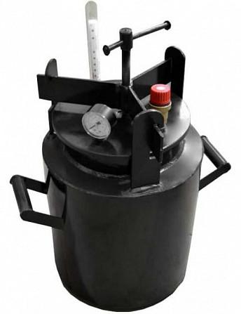 Автоклавы из черного металла ЧМ-10. Предложение от завода. Оплата по факту. Вінниця - зображення 1